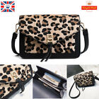 Women Animal Leopard Print Handbag Shoulder Messenger Leather Sling Satchel Bag
