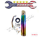 Performance Racing Exhaust Muffler for GY6 125cc 150cc Scooter Moped Multicolor