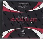 2018 Panini Immaculate Collection Sealed Hobby Box
