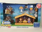 Fisher Price Little People Childrens Nativity Set Manger Scene 11 Toy Figures