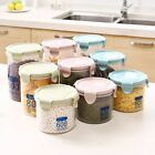Plastic Air Tight Food Containers Storage Set Clear Home Kitchen Durable Box USA