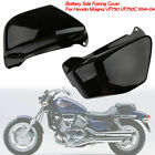 Black Battery Side Fairing Covers fit For Honda Magna VF750 VF750C 1994-2004
