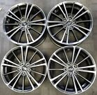 17 SCION FR S BR Z FACTORY OEM BLACK MACHINE ALLOY WHEELS RIMS 2013 2016 17x7