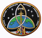 ISS 54 International Space Station NASA Mission Astronauts Space Patch