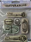 EK Success Sticko Inspirables Stone Locks And Keys Stickers Embellishments