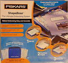 Fiskars ShapeBoss Ultimate Embossing System Excellent condition with box