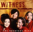 WITNESS - Greatest Hits - CD - **Mint Condition** - RARE
