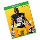 Madden NFL 19, Electronic Arts, Xbox One, 014633371758 Black
