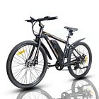 26 350W Electric Bicycle Bike Beach Mountain Ebike w Removable Lithium Battery