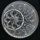 Beautiful Vintage Clear Indiana Glass Deviled Egg Divided Relish Dish Plate