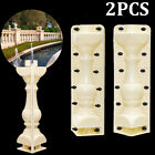 Front Back Part Moulds Balustrades Mold for Concrete Plaster Cement Garden Decor
