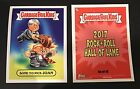2017 Topps Garbage Pail Kids Rock & Roll Hall of Lame Trading Cards 9