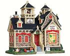 Lemax 25342 HILLSIDE SCHOOL Lighted Building Christmas Village Decor S Scale I