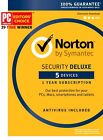Norton Internet Security  Deluxe Antivirus 1 Year 5 Device Win Mac Android iOS
