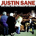 JUSTIN SANE - Life Love & Pursuit Of Justice - CD - *BRAND NEW/STILL SEALED*