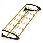 Coat Rack 1950s 5 Hooks Alu Brass Gold Vintage Retro