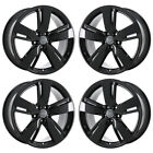 19 AUDI Q5 BLACK WHEELS RIMS FACTORY OEM 2018 2019 SET 4 59037