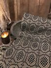 Black Woven Blanket Cabin Early Style