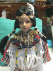 CATHAY COLLECTION NATIVE AMERICAN PORCELAIN DOLL 16 TALL GWYNETH 123 of 5000