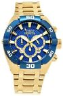Invicta Coalition Forces Chronograph Blue Dial Men's Watch 27258