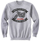 BENELLI 500 QUATTRO - NEW COTTON GREY SWEATSHIRT ALL SIZES IN STOCK