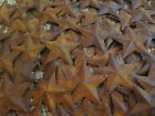 Lot 100 Rusty Barn Stars 2.25 in 2 1/4 Primitive Country Rusted Christmas Crafts