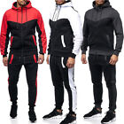 New Mens Tracksuit Jogging Top Bottom Sport Sweat Suit Hoodie Trousers Pants Set