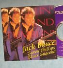 JACK BRUCE  with BLUES SARACENO SIMON PHILPS-LIVE 1992-rare japan silver cd