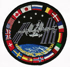 ISS International Space Station Nations NASA Mission Astronauts Space Patch