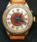 Vintage Longines Lindbergh Hour Angle 33mm watch Cal 10.68NRARE 10K Gold Filled