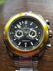 48mm Festina Chronograph Immaculate Fully Working Original Stainless Strap