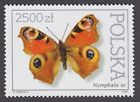 BUTTERFLY STAMP NATURE 1991 POLAND POSTAGE WILDLIFE SPOTS POLSKA BUTTERFLIES