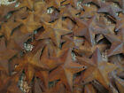 Lot 100 Rusty Barn Stars 2.25 in 2 1/4 Primitive Country Rusted Rust Americana