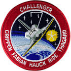 NASA Challenger Shuttle Mission STS 7 Embroidered Genuine Astronauts Space Patch