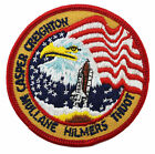 NASA Atlantis Shuttle Mission Flight STS 36 Embroidered Astronauts Space Patch