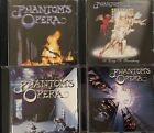 Phantom's Opera-S/T, So Long To Broadway, Following Dreams, Act IV (4 CD Lot)
