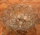 Crystal glass punch bowl and 47 cup set