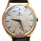 Vintage Men's 18 K Gold Zenith Wrist Watch