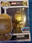Funko pop NYCC exclusive GOLD CHROME SHURI from black panther, new!