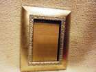 NICE WOODEN DECORATIVE SILVER FRAME..SHADOW BOX STYLE...FRAME SIZE IS 9