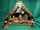 Fontanini 10 Piece Nativity with Stable 5 Figurines