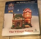 Carole Towne 2002 Village Tailor Shop Christmas Porcelain Lighted Building inbox