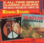 EDWIN STARR - 25 Miles/war And Peace - CD - **BRAND NEW/STILL SEALED** - RARE