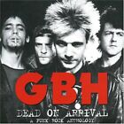 GBH - Dead On Arrival: Anthology - 2 CD - Import - **Mint Condition** - RARE