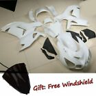 Unpainted White Fairing Bodywork For KAWASAKI NINJA ZZR1400 ZX 14R 2006-2011 10