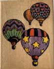 All Night Media 585E Balloonacy Wood Mounted Rubber Stamp Scrapbooking