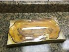 's Jeannette Glass Crystal Classics ,Colorama Amber tray,new in box