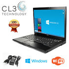 Dell Laptop Computer Latitude 154 LCD WiFi DVD Windows 7 Professional 64 bit