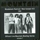 MOUNTAIN - Live At Woodstock Festival/ New Canaan H. S. 1969 - CD - Import NEW