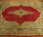 8 x 12 Hand Knotted High Quality Antique 1930s Lavar Fine Soft Kork Wool Rug